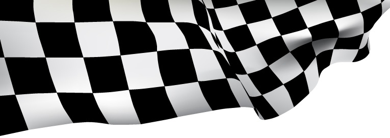 Race checker board flag