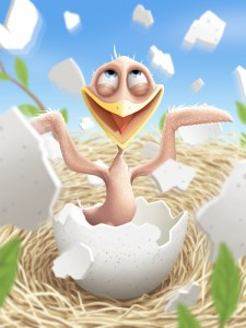 Crazy Naked Chick is Breaking Out of Her Shell!! Yep! That should get me some internet hits!
